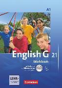 Cover-Bild zu English G 21, Ausgabe A, Band 1: 5. Schuljahr, Workbook mit CD-ROM und Audios online von Seidl, Jennifer