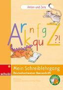 Cover-Bild zu Anton und Zora / Anton und Zora: Mein Schreiblehrgang Deutschschweizer Basisschrift von Jockweg, Bernd
