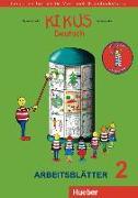 Cover-Bild zu KIKUS Deutsch. Arbeitsblätter 2 von Garlin, Edgardis