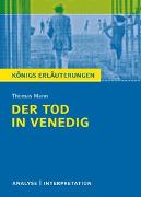 Cover-Bild zu Der Tod in Venedig von Thomas Mann von Mann, Thomas