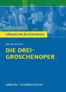 Cover-Bild zu Die Dreigroschenoper von Bertolt Brecht von Brecht, Bertolt
