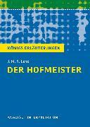 Cover-Bild zu Der Hofmeister von J. M. R. Lenz (eBook) von Bernhardt, Rüdiger