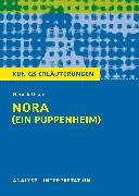 Cover-Bild zu Nora (Ein Puppenheim) von Henrik Ibsen (eBook) von Bernhardt, Rüdiger