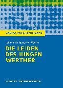Cover-Bild zu Die Leiden des jungen Werther von Johann Wolfgang von Goethe. Königs Erläuterungen (eBook) von Bernhardt, Rüdiger