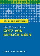 Cover-Bild zu Götz von Berlichingen von Johann Wolfgang von Goethe. Königs Erläuterungen (eBook) von Bernhardt, Rüdiger