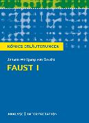 Cover-Bild zu Faust I von Goethe (eBook) von Bernhardt, Rüdiger
