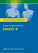 Cover-Bild zu Faust II von Johann Wolfgang von Goethe. Königs Erläuterungen (eBook) von Bernhardt, Rüdiger