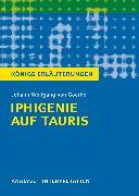 Cover-Bild zu Iphigenie auf Tauris. Königs Erläuterungen (eBook) von Bernhardt, Rüdiger