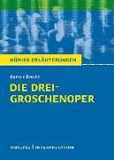 Cover-Bild zu Die Dreigroschenoper. Königs Erläuterungen (eBook) von Bernhardt, Rüdiger