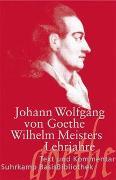 Cover-Bild zu Wilhelm Meisters Lehrjahre von Goethe, Johann Wolfgang