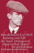Cover-Bild zu Aufstieg und Fall der Stadt Mahagonny von Brecht, Bertolt