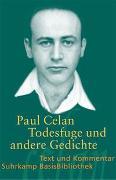 Cover-Bild zu »Todesfuge« und andere Gedichte von Celan, Paul