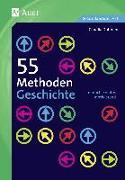 Cover-Bild zu 55 Methoden Geschichte von Schmitz, Claudia