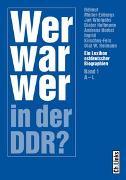 Cover-Bild zu Wer war wer in der DDR? von Müller-Enbergs, Helmut (Hrsg.)