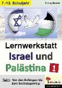 Cover-Bild zu Lernwerkstatt Israel und Palästina 1 von Brandt, Georg