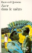 Cover-Bild zu Zazie dans le métro von Queneau, Raymond