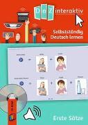 Cover-Bild zu DaZ interaktiv: Selbstständig Deutsch lernen ohne Vorkenntnisse - Erste Sätze (Schullizenz) von Redaktionsteam Verlag an der Ruhr