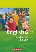 Cover-Bild zu English G 21, Ausgabe D, Band 1: 5. Schuljahr, Handreichungen für den Unterricht, Mit Kopiervorlagen von Dengler, Helmut