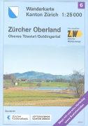 Cover-Bild zu Wanderkarte Kanton Zürich 06. Zürcher Oberland. 1:25'000