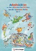 Cover-Bild zu Leserabe Arbeitsblätter Set 2 von Erdmann, Bettina