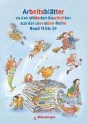 Cover-Bild zu Arbeitsblätter zu den silbierten Geschichten aus der Leseraben-Reihe Band 11 bis 20 von Erdmann, Bettina
