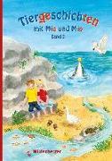 Cover-Bild zu Tiergeschichten mit Mia und Mio - Band 2 von Erdmann, Bettina