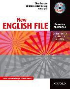 Cover-Bild zu Elementary: New English File: Elementary: MultiPACK A - New English File von Oxenden, Clive
