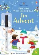 Cover-Bild zu Nina und Jan - Mein erstes Wisch-und-weg-Buch: Im Advent von Taplin, Sam