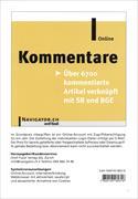 Cover-Bild zu Kommentare Online von Orell Füssli Verlag AG (Hrsg.)