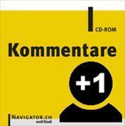 Cover-Bild zu Kommentare Offline Zusatzlizenz Navigator.CH von Orell Füssli Verlag AG (Hrsg.)