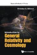 Cover-Bild zu Introduction to General Relativity and Cosmology von Boehmer, Christian G