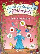 Cover-Bild zu Malen und Rätseln im Zauberwald - Erste Buchstaben von Beurenmeister, Corina (Illustr.)