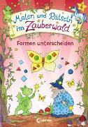 Cover-Bild zu Malen und Rätseln im Zauberwald - Formen unterscheiden von Beurenmeister, Corina (Illustr.)