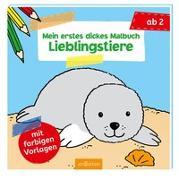 Cover-Bild zu Mein erstes dickes Malbuch Lieblingstiere von Beurenmeister, Corina (Illustr.)