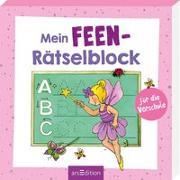 Cover-Bild zu Mein Feen-Rätselblock für die Vorschule von Beurenmeister, Corina (Illustr.)