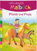 Cover-Bild zu Mein schönstes Malbuch. Pferde und Ponys. Malen für Kinder ab 5 Jahren von Beurenmeister, Corina (Illustr.)