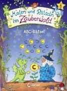 Cover-Bild zu Malen und Rätseln im Zauberwald - ABC-Rätsel von Beurenmeister, Corina (Illustr.)