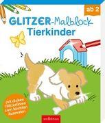 Cover-Bild zu Glitzer-Malblock Tierkinder von Beurenmeister, Corina (Illustr.)