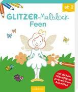 Cover-Bild zu Glitzer-Malblock Feen von Beurenmeister, Corina (Illustr.)