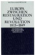 Cover-Bild zu Europa zwischen Restauration und Revolution 1815-1849 (eBook) von Langewiesche, Dieter