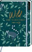 Cover-Bild zu myNOTES Notizbuch A5: Wild und wunderbar - notebook medium, dotted - für Träume, Pläne und Ideen / ideal als Bullet Journal oder Tagebuch