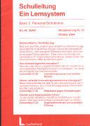 Cover-Bild zu Bd. 3/18: Personal / Schulklima. 18. Aktualisierungslieferung