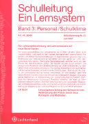 Cover-Bild zu Bd. 3/21: Personal / Schulklima. 21. Aktualisierungslieferung