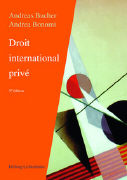 Cover-Bild zu Droit international privé
