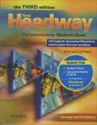 Cover-Bild zu New Headway. Third Edition. Pre-Intermediate. Student's Book with wordlist