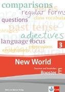 Cover-Bild zu New World 3. Grammar and Vocabulary, Booster 3E