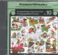 Cover-Bild zu De Velochlauer chunnt is Chefi / D Indianer-Zaubermedizin