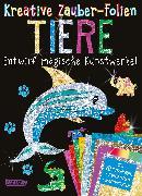 Cover-Bild zu Kreative Zauber-Folien: Tiere: Set mit 10 Zaubertafeln, Folien und Anleitungsbuch