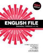 Cover-Bild zu English File: Elementary: Workbook with Key von Oxenden, Clive (Überarb.)
