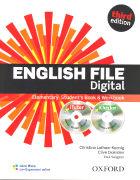 Cover-Bild zu English File Digital. Third Edition. Elementary. Student's Pack with key von Latham-Koenig, Christina